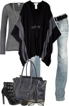 """Poncho (II)"" by partywithgatsby on Polyvore"
