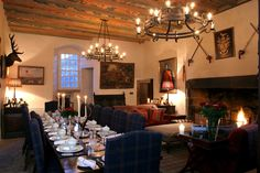 Katharine-pooley-interiors Fortier Castle Great Hall