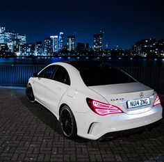 CLA45 AMG. In love with these. (Baby CLS)
