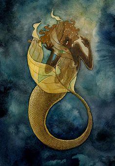 mermaid project by Renee Nault