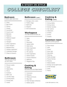 the ultimate first apartment checklist erste eigene wohnung einrichtung und erste wohnung. Black Bedroom Furniture Sets. Home Design Ideas