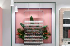 Nail Salon developed by Jason Byrne Design. Find all you need to know about Nail Salon products and more from Bookmarc. Modern Nail Salon, Nail Salon Design, Modern Nails, Nail Store, Nail Supply, Design Furniture, Retail Shop, Beauty Bar, Design Awards