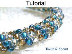 Bead Stitching Tutorials Tubular Peyote How by SimpleBeadPatterns