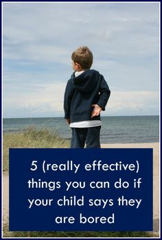 What to do if your child says they are bored. If your child feels this way they…