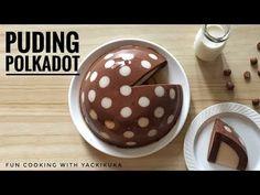 PUDING POLKADOT * POLKADOT CHOCO PUDDING - YouTube