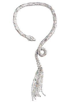 Le collier Serpent Opalescent Boucheron