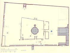 Planta de la explanada de las mezquitas en Jerusalén
