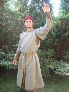 Surcote gardecorps » 9th - 13th century outerwear » Medieval On-line Shop » Kokosh's Manufacture - gambeson, medieval chainmail and clothing online shop
