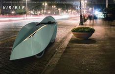 The Petal Velomobile Promises Increased Efficiency of Human-Powered Transport #eco #vehicles trendhunter.com