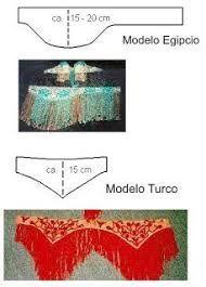 Resultado de imagen para confeccion de fajas para danza arabe
