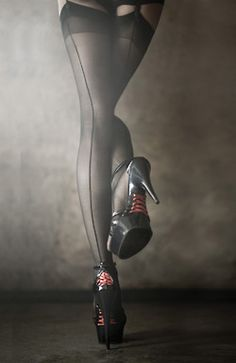 This would be a good Boudior shot...LOVE the shoes!