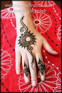 Party henna design | by HennaTrendz
