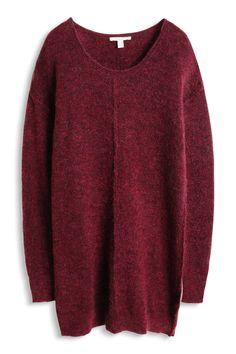 Robe hiver bordeaux Esprit - 50 robes à la faveur de l'hiver - Elle