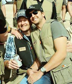 Two of my favorite southern men, Blake Shelton & Luke Bryan.