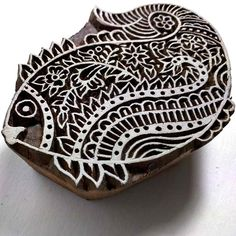 Fish Fabric Printing Stamp