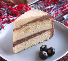 Chocolate & Peanut Butter Buckeye Cake