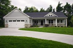 Ranch House Plan with 3588 Square Feet and 3 Bedrooms from Dream Home Source | House Plan Code DHSW077023