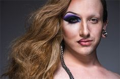 Photographer Captures The Two Faces Of Drag Queens - How inspirational! The Art in these photos are great! ♥