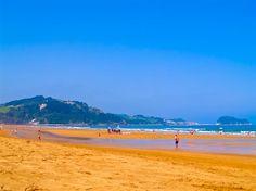 Strand #Zarautz, #Baskenland. #Surfen und gut essen!