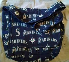 Check out this item in my Etsy shop https://www.etsy.com/listing/220479367/seattle-mariners-messenger-bag
