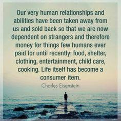 Human relationships.