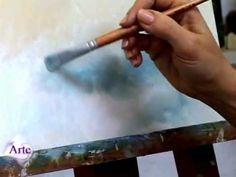 Olá... acabei de postar... vem vêr, vem!!!   Cómo pintar cielos al óleo parte II (versión más amplia)