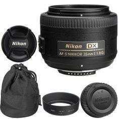 22412 photo-video Nikon 35mm f/1.8G AF-S DX Lens for Nikon Digital SLR Cameras Brand New  BUY IT NOW ONLY  $169.95 Nikon 35mm f/1.8G AF-S DX Lens for Nikon Digital SLR Cameras Brand New...