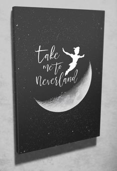 17 Trendy Ideas For Canvas Art Diy Disney Peter Pan Canvas Painting Quotes, Cute Canvas Paintings, Diy Painting, Disney Canvas Art, Disney Art, Disney Ideas, Disney Canvas Quotes, Quotes On Canvas, Disney Quotes