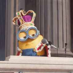 New trendy GIF/ Giphy. minions minion mic drop the minions. Let like/ repin/ follow @cutephonecases