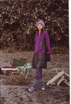 My prefered hiking wear for sure. Harajuku Girls, Harajuku Fashion, Hiking Skirt, Hiking Wear, Mountain Fashion, Mori Girl Fashion, Hiking Fashion, Runner Girl, Outdoor Fashion
