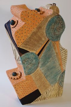 Large sculpture, handmade by Patricia Griffin. Check it out at Vault Gallery in Cambria.