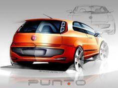 Sketch - Fiat Punto Evo