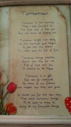 a poem taken from daphne's diary