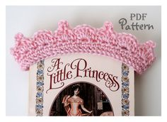 PDF CROCHET PATTERN Baby Crown Crochet door NorthernCottageGifts