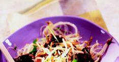 bœuf au quatre-épices, rumsteck, quatre épices, marinade Teriyaki Kikkoman, vermicelle de riz, tabasco Cabbage, Vegetables, Food, Kitchens, Essen, Cabbages, Vegetable Recipes, Meals, Yemek