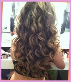 Brown Amp Blonde Smokey Curls Hairstyles And Beauty Tips Beautiful Curls Body Wave Perm Hair Styles Big Curl Perm Long Permed Hairstyles Long Hair Perm Hair within The Most Amazing Along with Gorgeous body wave perm for long hair For Head Big Curl Perm, Loose Perm, Loose Spiral Perm, Medium Hair Styles, Curly Hair Styles, Perm Curls, Wavy Curls, Body Wave Perm, Large Curls