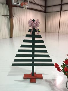 DIY Outdoor Christmas Trees