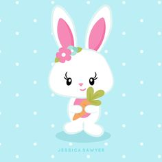 Baby Animals Clipart Easter Bunny Ideas For 2019 Kawaii Drawings, Cute Drawings, Hello Kitty Drawing, Boy Post, Easter Illustration, Easter Wallpaper, Kawaii Doodles, Diy Art Projects, Easter Candy