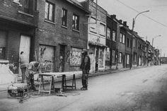 Nieuw in mijn Werk aan de Muur shop: Doel, verlaten dorp in Belgi�