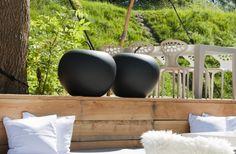 Pottery Pots black apple