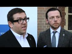 Simon Pegg & Nick Frost Interview - The World's End & The Power of Cinema Simon Pegg, End Of The World, Random Things, Frost, Theater, Movie Tv, Laughter, Fangirl, How To Memorize Things
