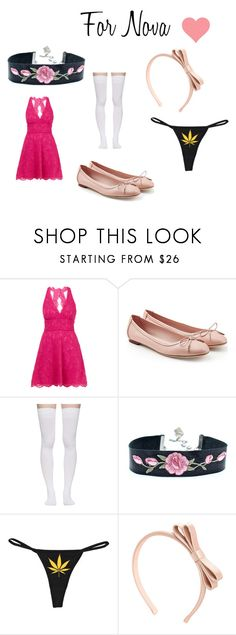 """""""For Nova"""" by jamie-perez5 on Polyvore featuring Nicole Miller, Salvatore Ferragamo, Marieyat and RED Valentino"""