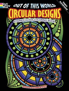 Orbs, wheels, and globes abound in this gallery of otherworldly designs. Suitable for colorists of all ages, 16 patterns feature coronas, sunbursts, compasses, starry rings, and other images that pulse with psychedelic energy.