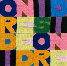 "Boetti ""Ordine e Disordine"" (Order and Disorder) tapestry embroidered in Kabul Afghanistan in 1977.  An amazing unique piece from a private collection."