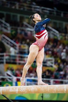 Aly Raisman on beam Gymnastics Quotes, Gymnastics Team, Gymnastics Pictures, Artistic Gymnastics, Olympic Gymnastics, Olympic Sports, Olympic Team, Gymnastics Routines, Gymnastics Tricks