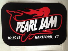 Pearl Jam 10/25/2013 Hartford, CT sticker