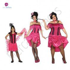 Disfraz de #Charleston rosa para Mujer. #disfraces para #grupos #comparsas en #mercadisfraces.es tu #tienda de #disfraces #online