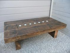 Tealight Coffee Table