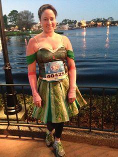 Anna running costume- Frozen, Disney Princess Half marathon weekend