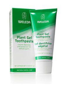 Weleda Body Care- Plant Gel Toothpaste 2.5 oz